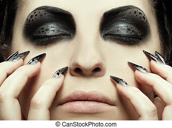 cat-theme, maquillage