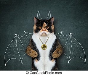 Cat wants to be bat 2