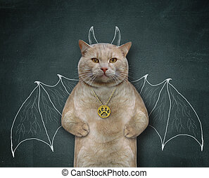 Cat wants to be bat 3