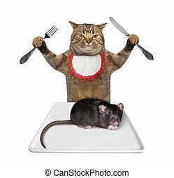 Cat wants to eat rat 2