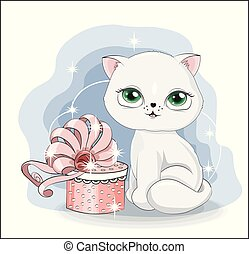 cat with gift 2