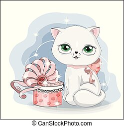 cat with gift 3