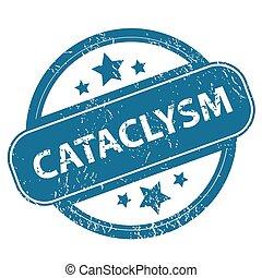 CATACLYSM round stamp
