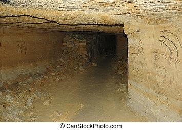 catacombes, réseau, mondiale, plus longtemps, odessa, ukraine