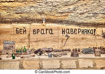 catacombes, vieux, odessa