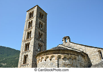 Catalan Romanesque church of the vall de Boi