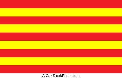 catalonia - Catalonia (Spain) flag