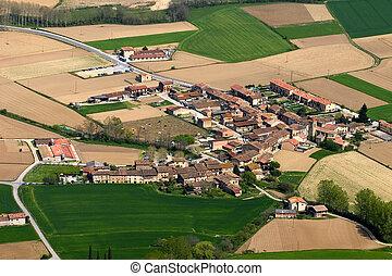 Rural life, Els Hostalets d'en Bas, Catalonia, Spain