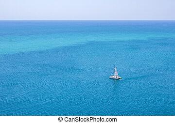 catamaran at Promthep cape phuket thailand