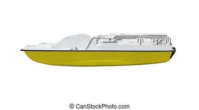 Catamaran isolated