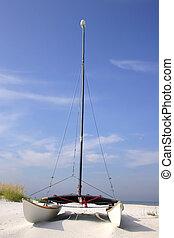 catamaran, plage
