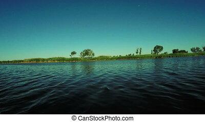 Catamaran River - Next From catamaran sailing River