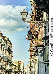 Catania arhitecture - Catania Street view - Catania...