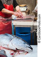 catania, fishmarket