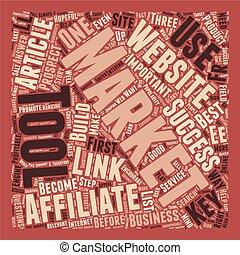 catapulte, concept, texte, indispensable, ventes, s, wordcloud, affiliate, fond, outils, promoteur