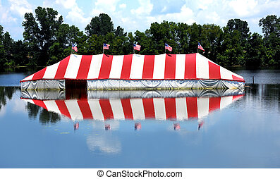 Catastrophic Flooding Submerges Fireworks Stand - ...