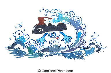 Catastrophic tsunami.