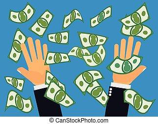 Catching Falling Money