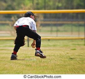 Catching Ground Ball