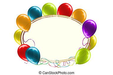 catchy, cumpleaños, mensaje, señal