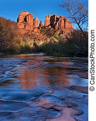 catedral, arizona, sedona, rocas