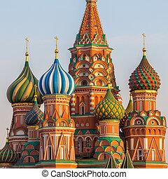 catedral, basil's, rusia, santo, moscú