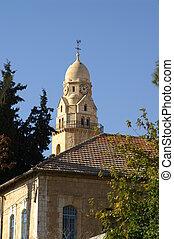 catedral, en, jerusalén