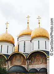 catedral, kremlin, annunciation, rússia, moscou