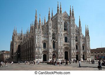 catedral, milan, (dome, duomo)