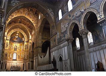 catedral, monreale., palermo