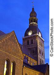 catedral, riga, cúpula