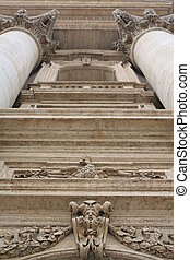 catedral, roma, peter, san, (italy)