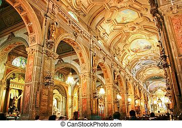 catedral, santiago, chile