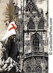 catedral, santo, stephens, viena
