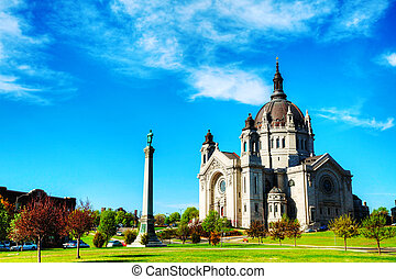 catedral, st. paul, minnesota