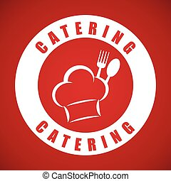 Catering and chefs hat design