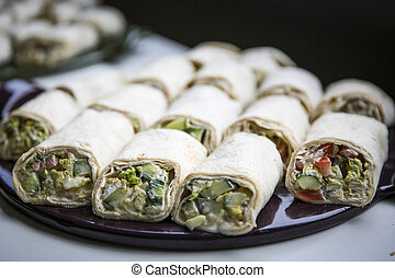 Catering, Buffet / Wraps