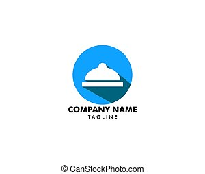 Catering company logo template design