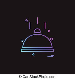 catering food icon vector design