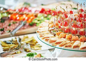 Catering food service
