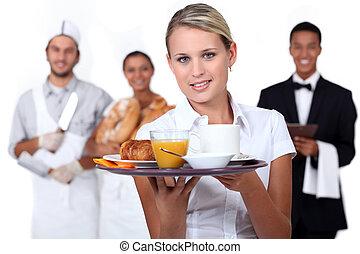 catering, pessoal