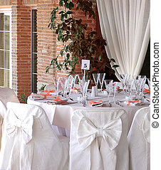 catering table view