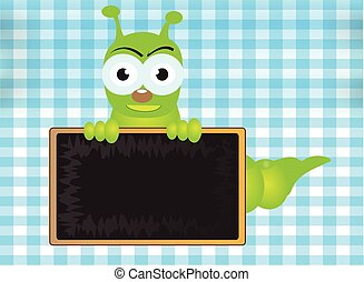 Caterpillar and Blackboard