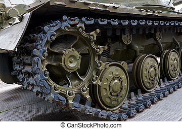 a military tank