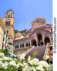 cathédrale, amalfi