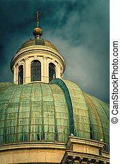 cathédrale,  dôme