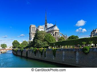 cathédrale dame, paris france