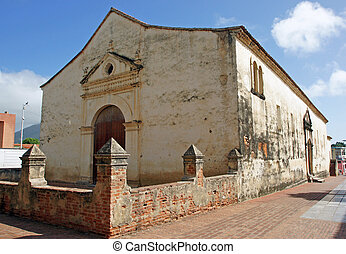 cathédrale, la, asuncion, isla, margarita, venezuela