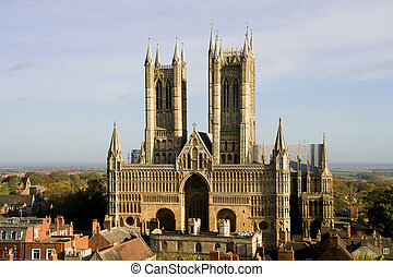 cathédrale, lincoln