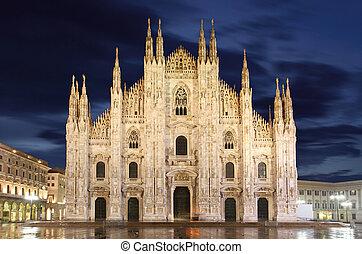 cathédrale, milan, dôme